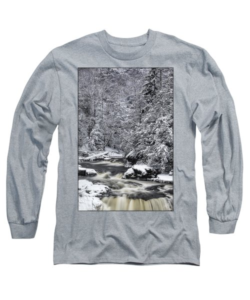 Snowy Blackwater Long Sleeve T-Shirt