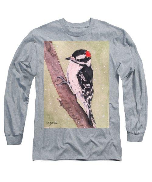 Snowy Downy Long Sleeve T-Shirt