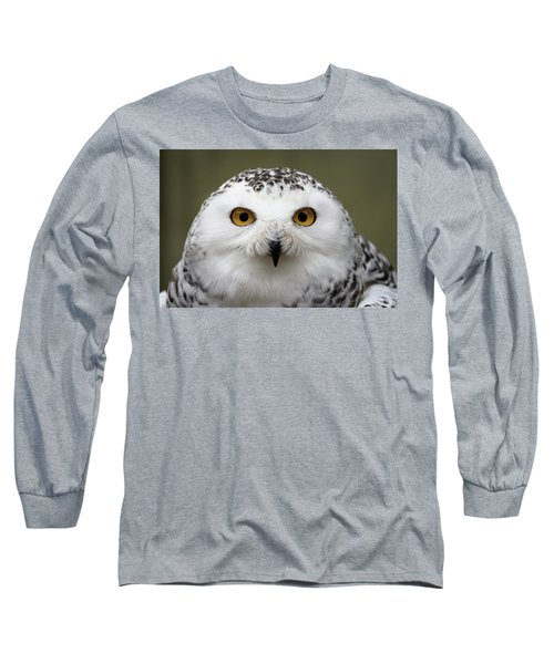 Snowy Eyes Long Sleeve T-Shirt