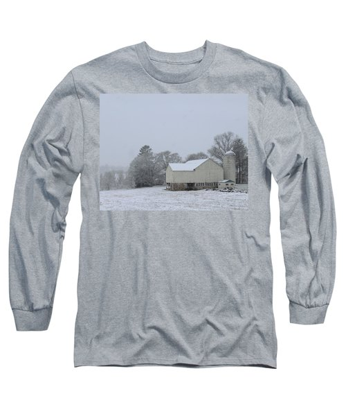 Winter White Farm Long Sleeve T-Shirt