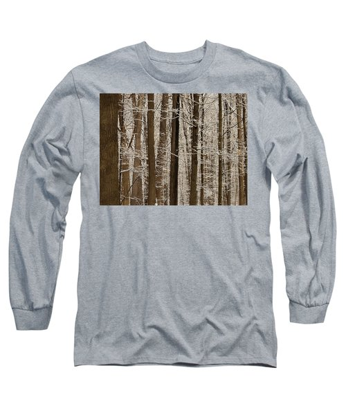 Snowy Forest Elevation Long Sleeve T-Shirt