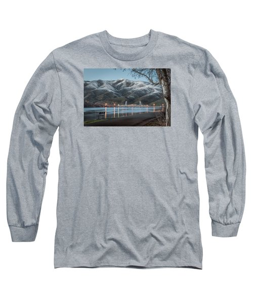 Snowy Star Long Sleeve T-Shirt by Brad Stinson
