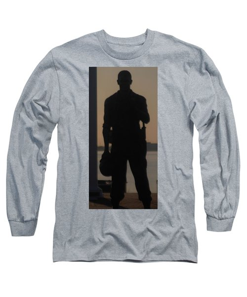 Long Sleeve T-Shirt featuring the photograph So Help Me God by John Glass