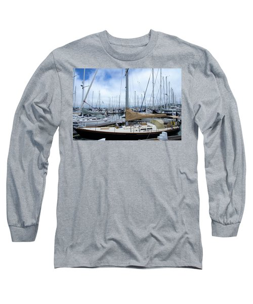 So Many Sailboats Long Sleeve T-Shirt by Laura DAddona