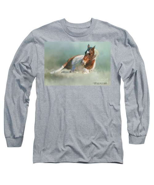 Soaking Up Some Sun Long Sleeve T-Shirt by Kathy Russell