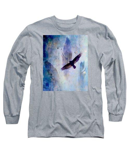 Soaring Long Sleeve T-Shirt by Lisa Noneman