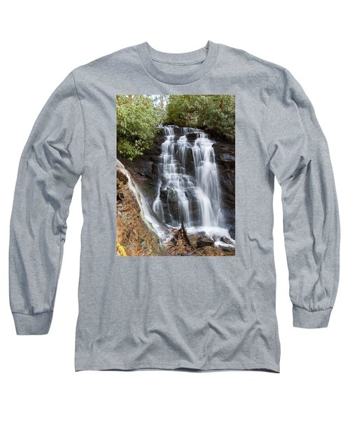 Long Sleeve T-Shirt featuring the photograph Soco Falls by Craig T Burgwardt