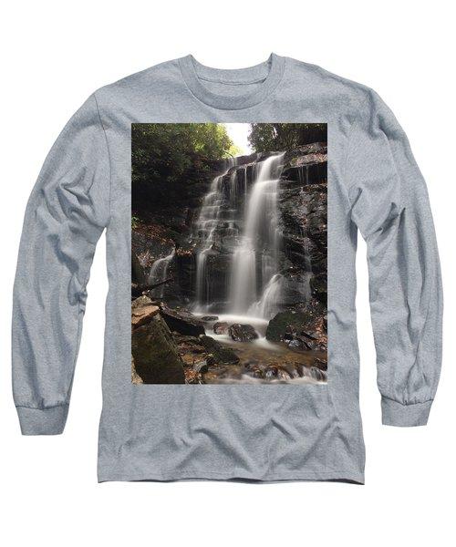 Soco Falls-portrait Version Long Sleeve T-Shirt