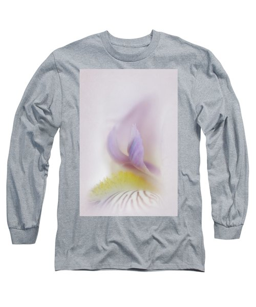 Long Sleeve T-Shirt featuring the photograph Soft And Delicate Iris by David and Carol Kelly