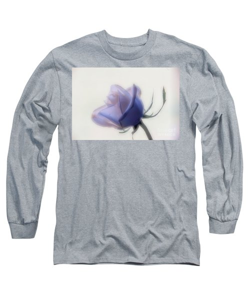 Soft Focus Rose Long Sleeve T-Shirt