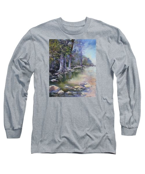 Soft Light On The Pedernales Long Sleeve T-Shirt