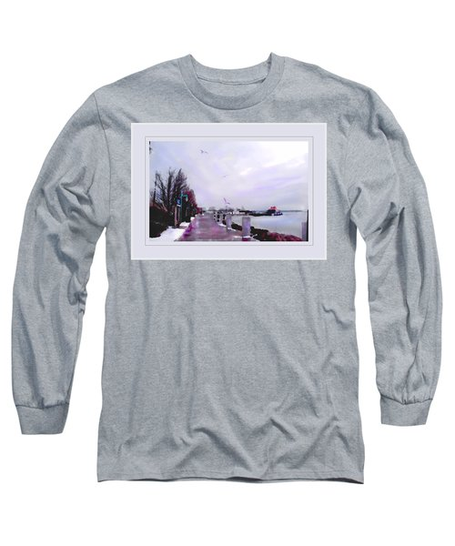 Soft Winter Day Long Sleeve T-Shirt by Felipe Adan Lerma