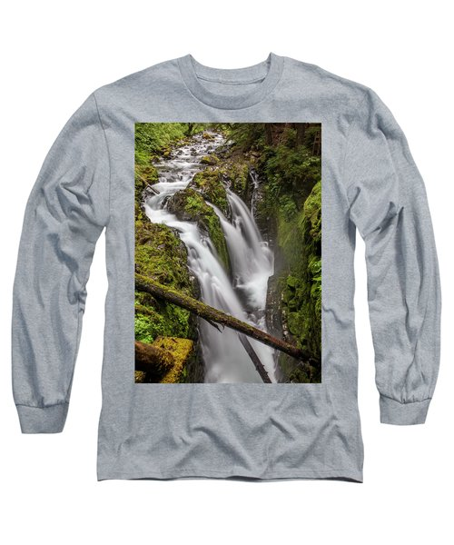 Sol Duc Falls Long Sleeve T-Shirt