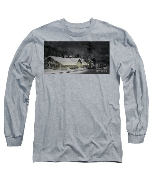 Solace From The Storm Long Sleeve T-Shirt by Brad Allen Fine Art