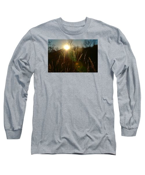 Long Sleeve T-Shirt featuring the photograph Solar Flares by Nikki McInnes