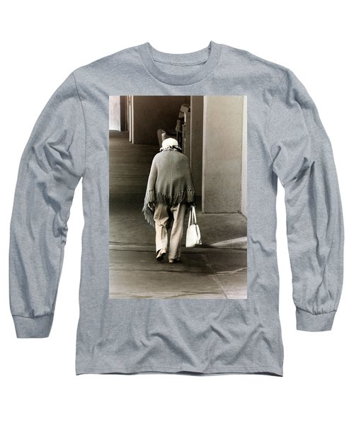 Solitary Lady Long Sleeve T-Shirt by Don Gradner