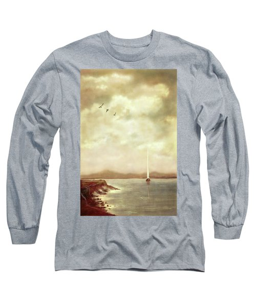 Solitary Sailor Long Sleeve T-Shirt