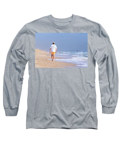 Solitude Long Sleeve T-Shirt by Keith Armstrong