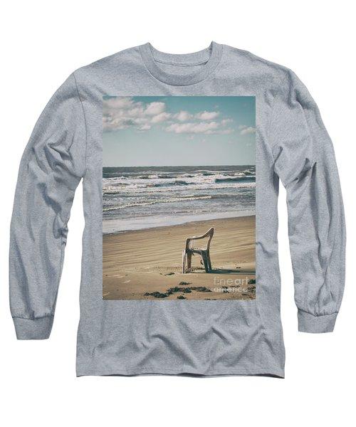 Solo On The Beach Long Sleeve T-Shirt