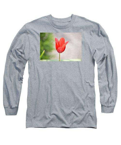 Solo Tulip Long Sleeve T-Shirt by William Bartholomew