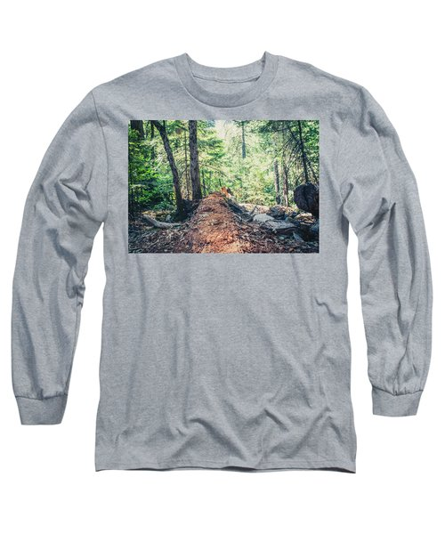 Somber Walk- Long Sleeve T-Shirt