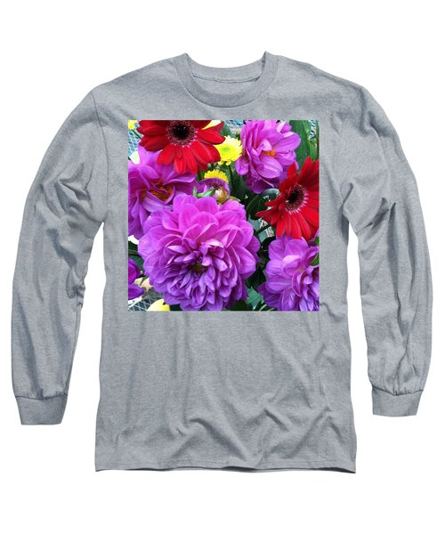 Some Fall Flowers For Inspiration! Long Sleeve T-Shirt