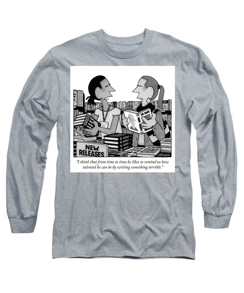 Something Terrible Long Sleeve T-Shirt