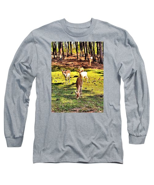 Something This Way Cometh Long Sleeve T-Shirt by James Potts