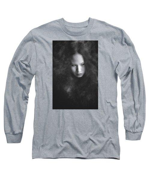 Somethings Brewing Long Sleeve T-Shirt by Scott Meyer