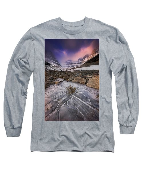 Somewhere In The Canadian Rockies Long Sleeve T-Shirt