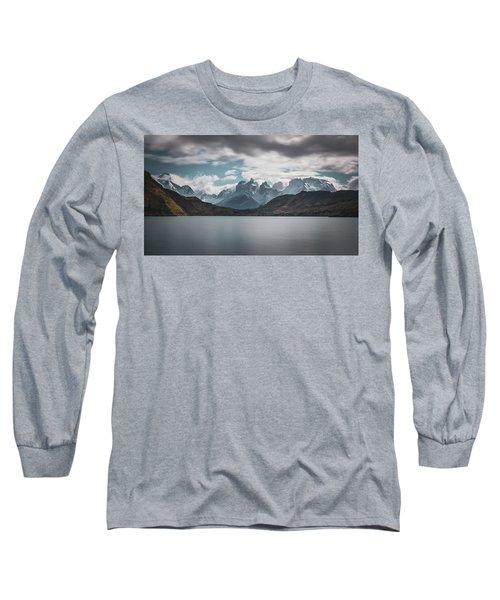 Somewhere Over The Mountain Range Long Sleeve T-Shirt
