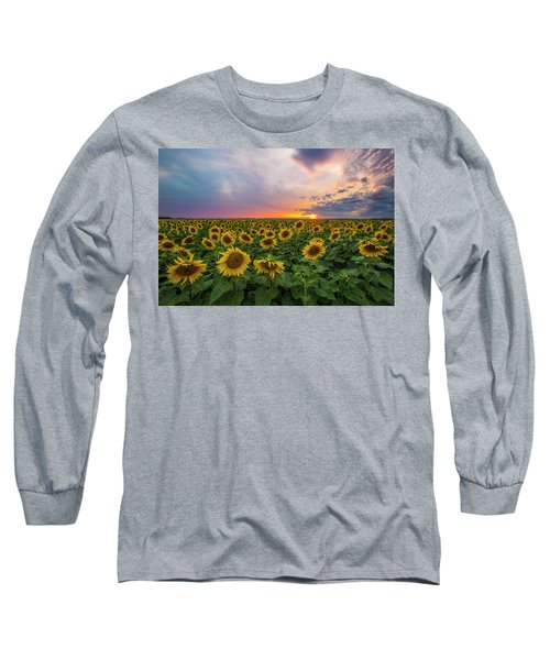 Somewhere Sunny  Long Sleeve T-Shirt by Aaron J Groen