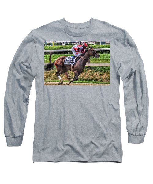 Songbird With Mike Smith Saratoga August 2017 Long Sleeve T-Shirt