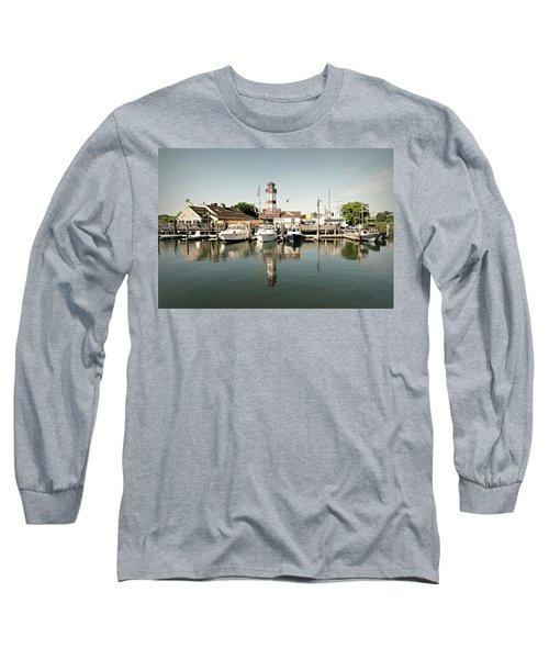 Sono Seaport Long Sleeve T-Shirt by Diana Angstadt