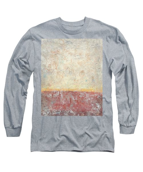 Sonoran Desert #2 Southwest Vertical Landscape Original Fine Art Acrylic On Canvas Long Sleeve T-Shirt