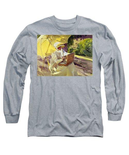 Sorolla: Painter, 1907 Long Sleeve T-Shirt