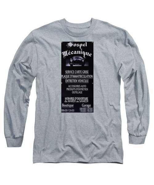 Sospel Mechanic Long Sleeve T-Shirt