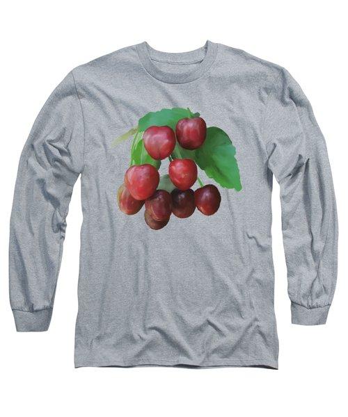 Sour Cherry Long Sleeve T-Shirt