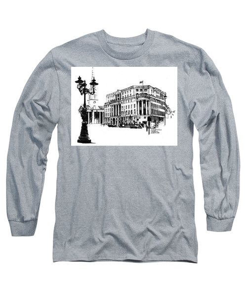 South Africa House Long Sleeve T-Shirt by Tim Johnson