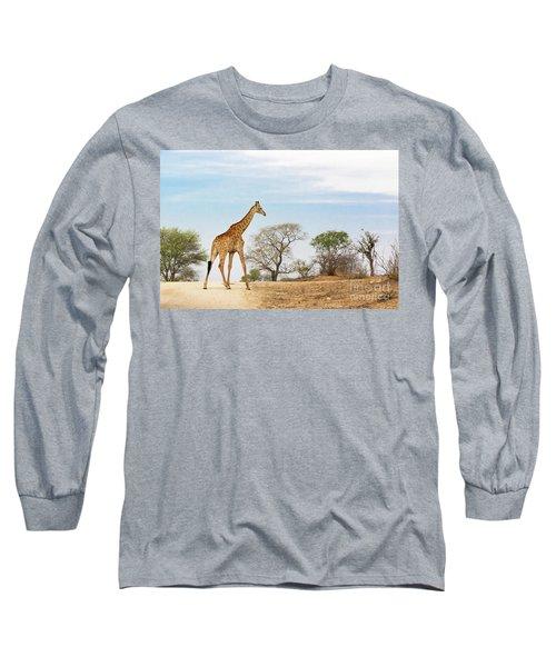 South African Giraffe Long Sleeve T-Shirt