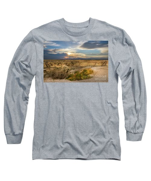 South Dakota Sunrise Long Sleeve T-Shirt