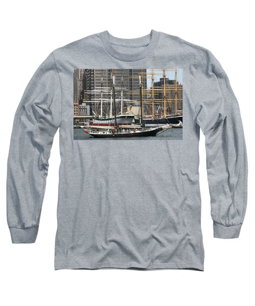 South Street Seaport Pioneer Long Sleeve T-Shirt