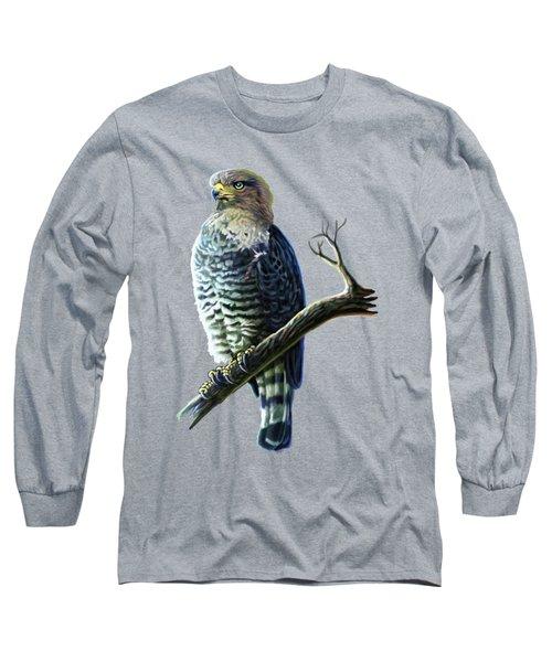 Southern Banded Snake Eagle Long Sleeve T-Shirt