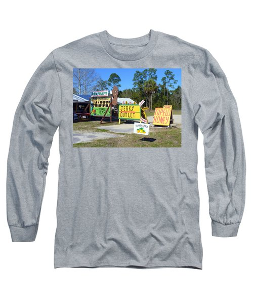 Southern Delights Long Sleeve T-Shirt by Carla Parris