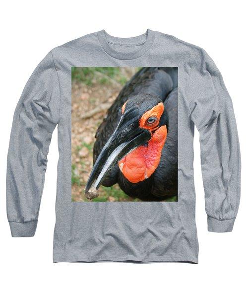Southern Ground Hornbill Long Sleeve T-Shirt