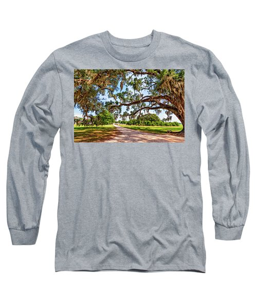 Southern Serenity Long Sleeve T-Shirt by Steve Harrington