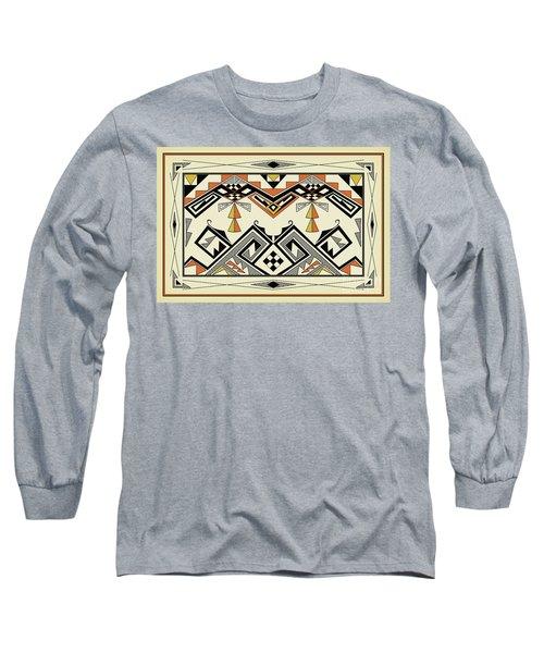 Southwest Pattern Long Sleeve T-Shirt