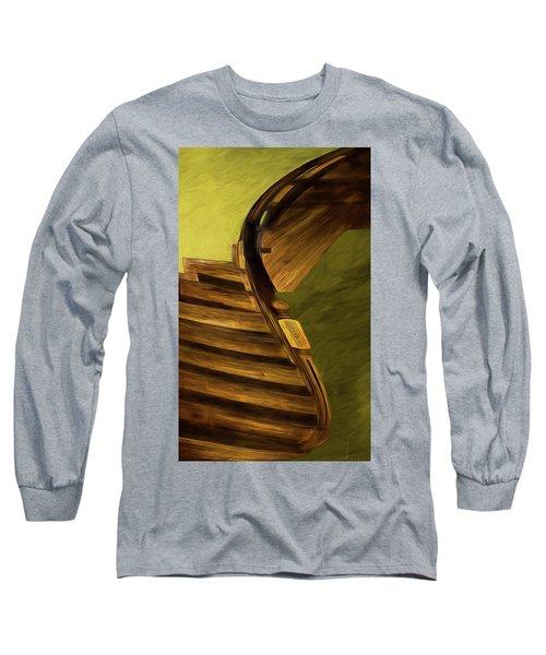 Space Geometry #12 Long Sleeve T-Shirt