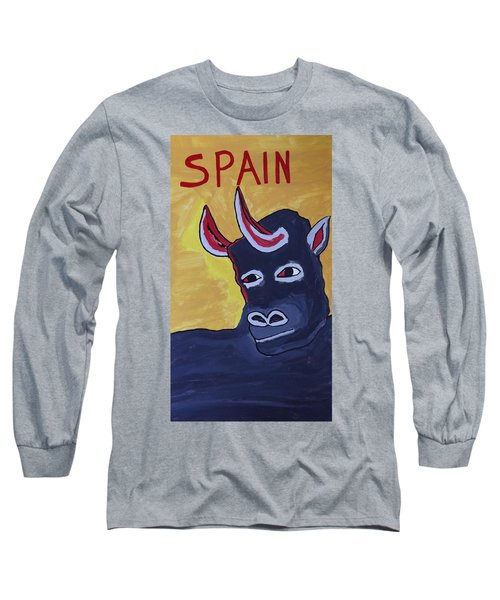Spain  Long Sleeve T-Shirt by Don Koester