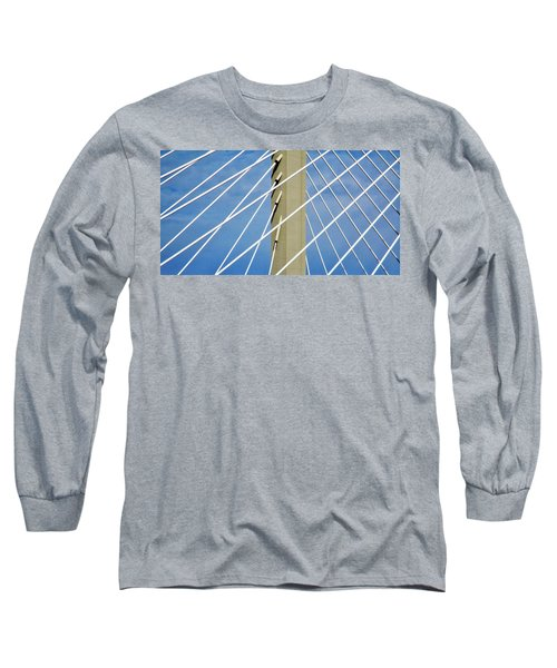 Span Long Sleeve T-Shirt by Martin Cline